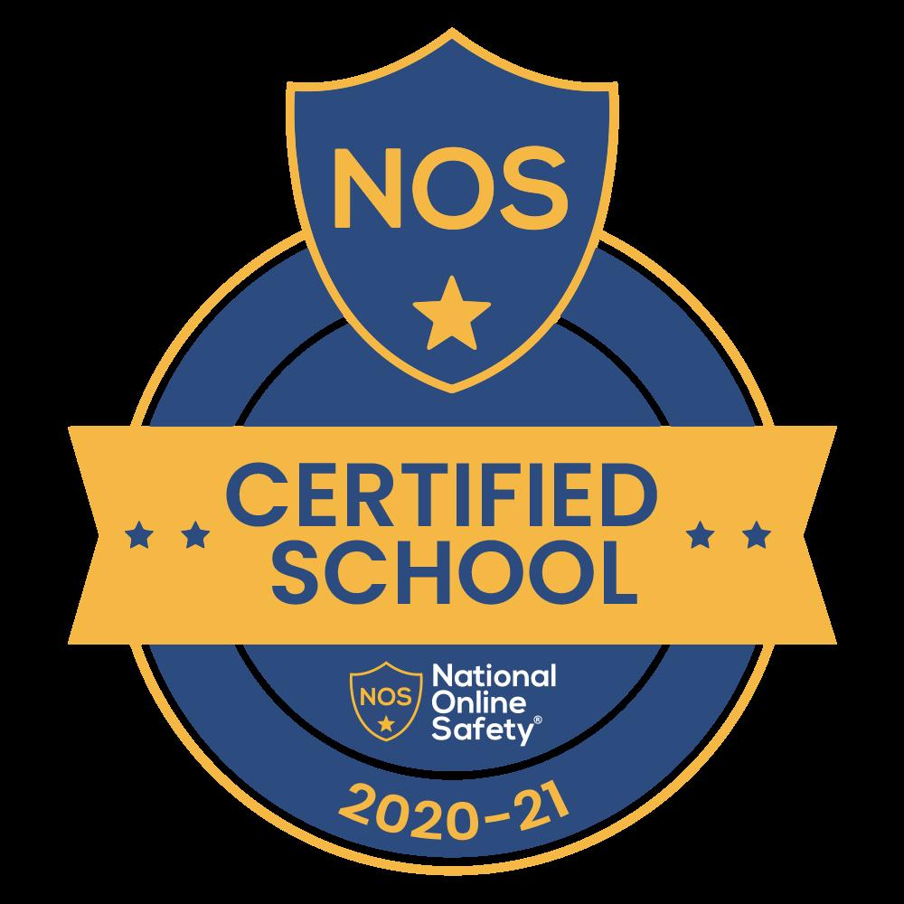 National Online Safety Certified School badge